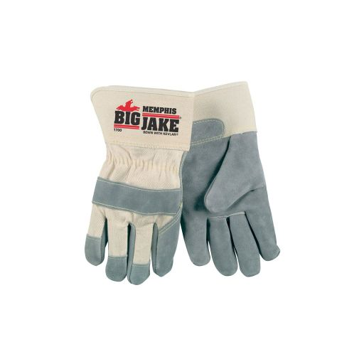 MEM1700LG	Big Jake Split Leather Glove Size Large