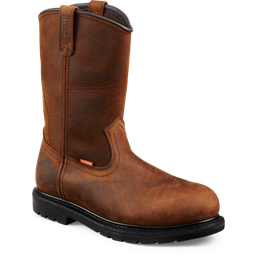 "WX#5700 Men's 10"" Pull On Boot Brown"