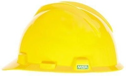 [MSA475360] MSA Hard Hat [RATCHED][YELLOW]
