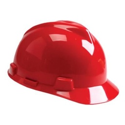 [MSA475363] MSA Hard Hat [RATCHED][RED]