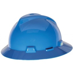 [MSA475368] MSA Full Brim Hard Hat [BLUE]