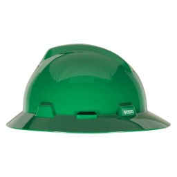 [MSA475370] MSA Full Brim Hard Hat [GREEN]