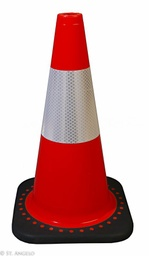 JBCRF45015C3M6	TRAFFIC CONE 18IN W/3M REFLEC COLLAR