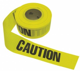 "[RTZCCC] BARRICADE TAPE ""CAUTION"" YELLOW 3"" x 1000"""